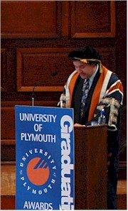 Deputy Vice-Chancellor at an Award Ceremony
